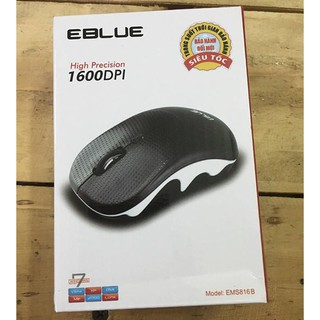 Chuột không dây Eblue EMS816 màu đen thumbnail