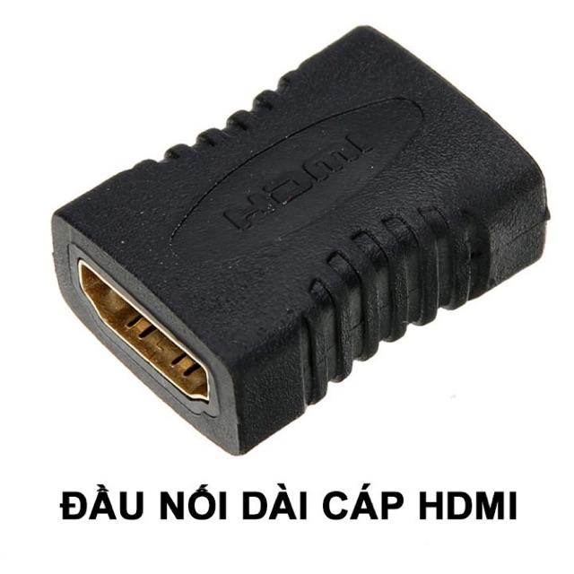 Đầu nối dài cáp HDMI hàng chuẩn lõi đồng mạ vàng. Báo giá 1 cái.