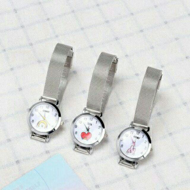 Đồng hồ điện tử đeo tay BT21 cho nam nữ