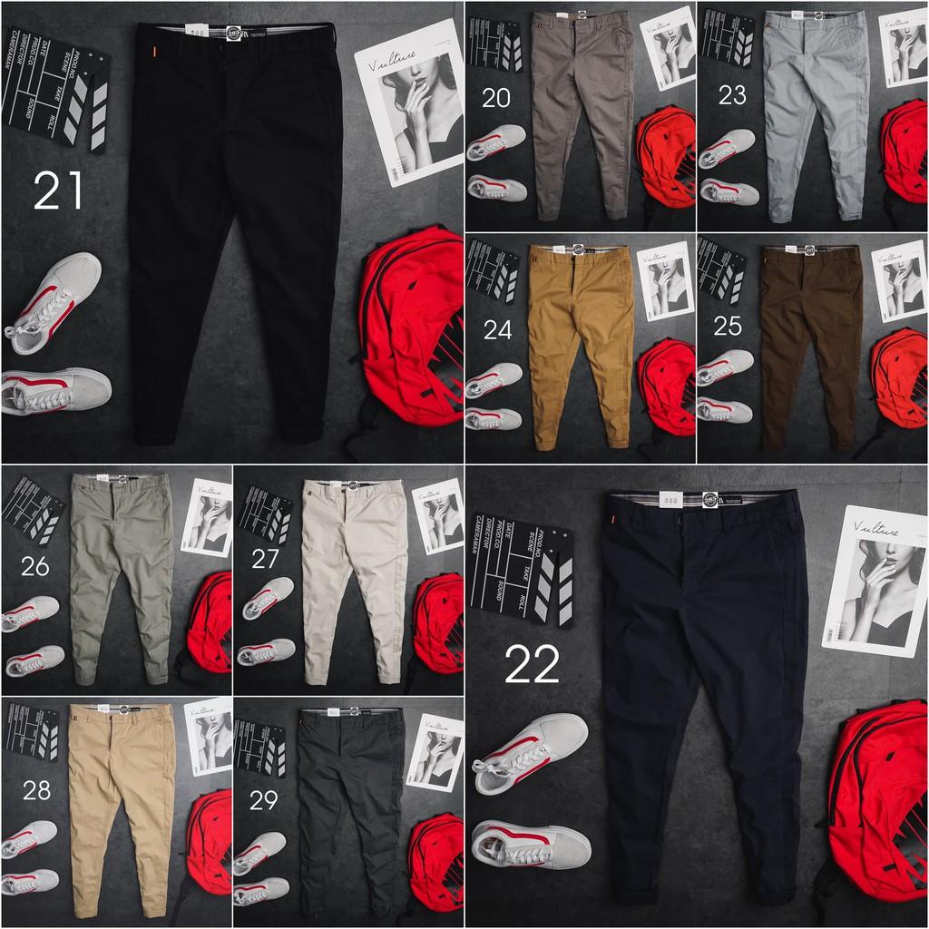 Siêu Đẹp Chất Lượng - QKZR2 - Quần kaki nam Z.R 10 Màu đây là 1 chiếc quần kaki SlimFit dáng kaki chinos siêu đỀ