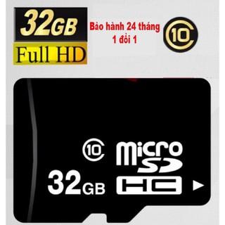 Thẻ nhớ 32GB Class 10 U1 tốc độ cao dùng cho điện thoại, camera IP. Bảo hành 12 tháng 1 đổi 1