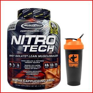 Whey Tăng Cơ Bắp và Tăng Sức Mạnh – Nitro Tech 4lbs (1.8kg) Vị Mocha Capucchino