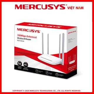 Router bộ phát wifi chuẩn N tốc độ 300Mbps Mercusys MW 325R 4 râu