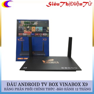ANDROID TV BOX VINABOX X9 ĐẦU BOX X9
