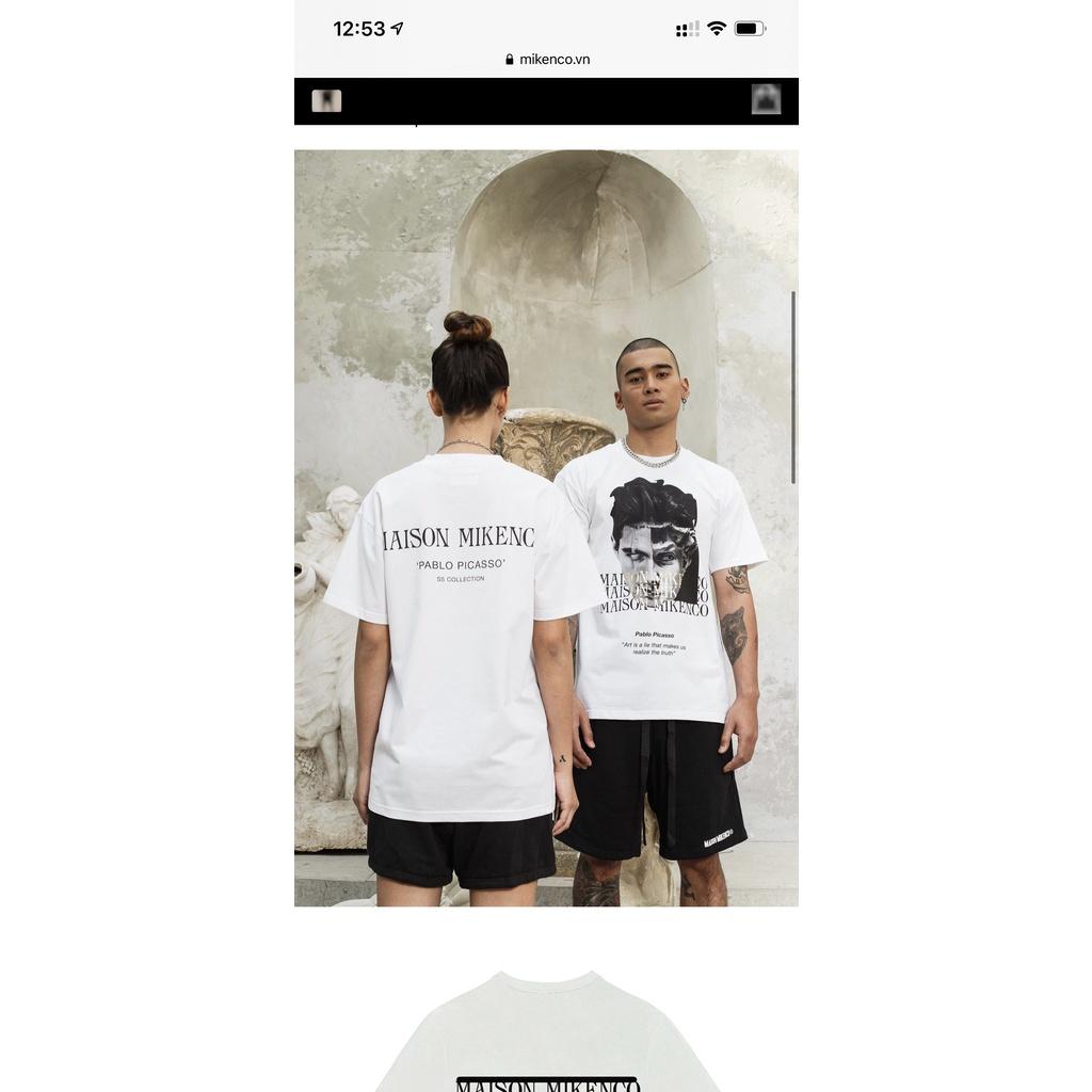 ( Ảnh thật Shop chụp )áo phông mikenco siêu hot trend cho ace...