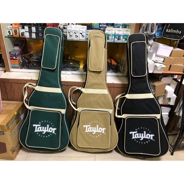 Bao Đựng Đàn Acoustic Guitar 4 Lớp Taylor Cao Cấp - Túi Ghita - Ghi-ta Cổ Điển