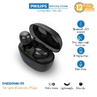 """[Mã ELCE70 giảm 6% đơn 500K] Tai nghe Bluetooth Philips SHB2505BK/00 giá chỉ còn <strong class=""""price"""">195.000.000.000đ</strong>"""