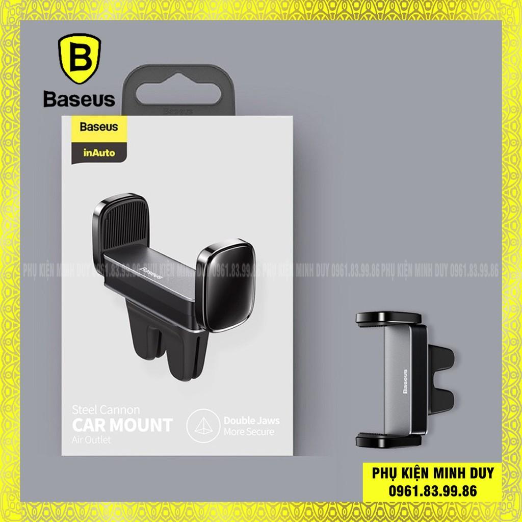 Đế giữ điện thoại dùng cho xe hơi Baseus Steel Cannon Air Outlet Car Mount (nhỏ gọn, gắn khe gió)