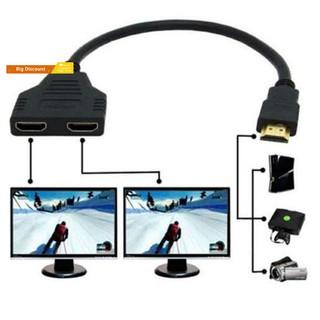 Dây chuyển đổi chia 1 ra 2 cổng HDMI 1080P