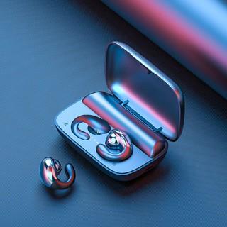 Không đau khi đeo tai nghe Bluetooth dây Amoi S19 thể thao hai treo dẫn truyền xương chạy thumbnail