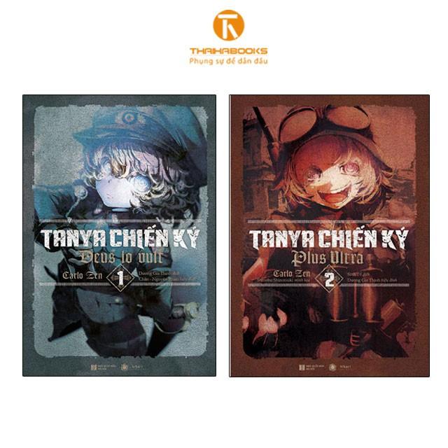 Sách - Combo Tanya chiến ký tập 1 + 2