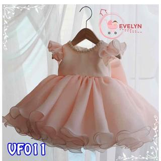 Đầm công chúa Evelyn Mã VF11-1 thời trang cho bé gái 0-9 tuổi mặc dự tiệc sinh nhật