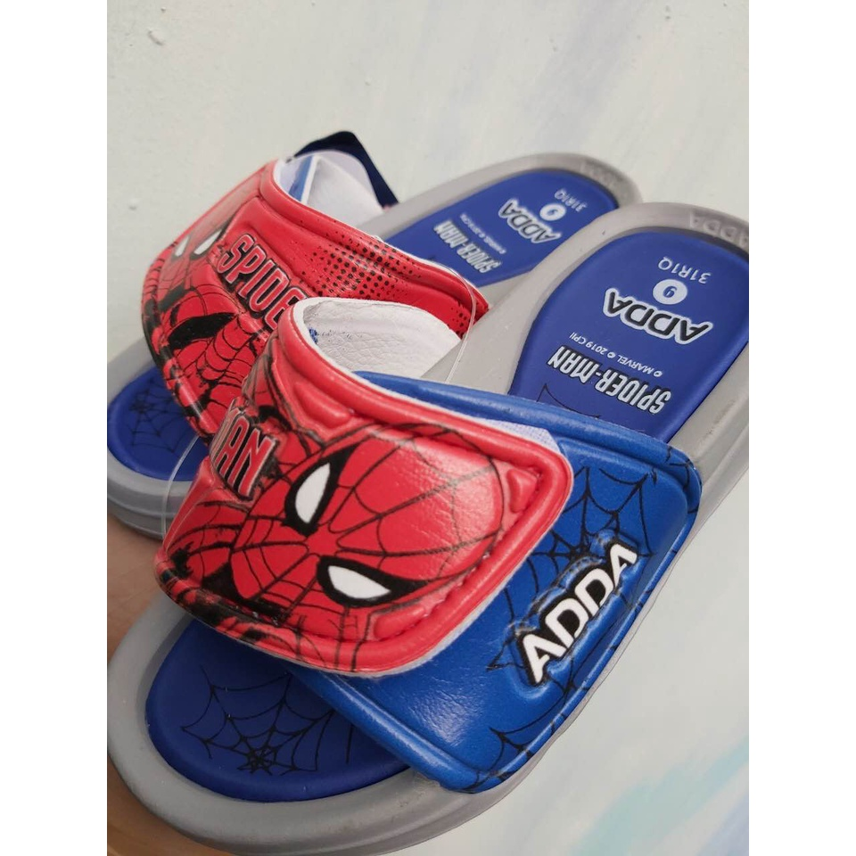 Dép quai dán bé trai Spider man [nhập khẩu Thái Lan] ADDA 31R1Q