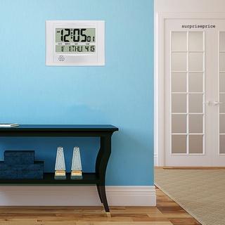 Đồng hồ điện tử mini màn hình lcd 2 trong 1 tiện dụng cho gia đình - hình 4