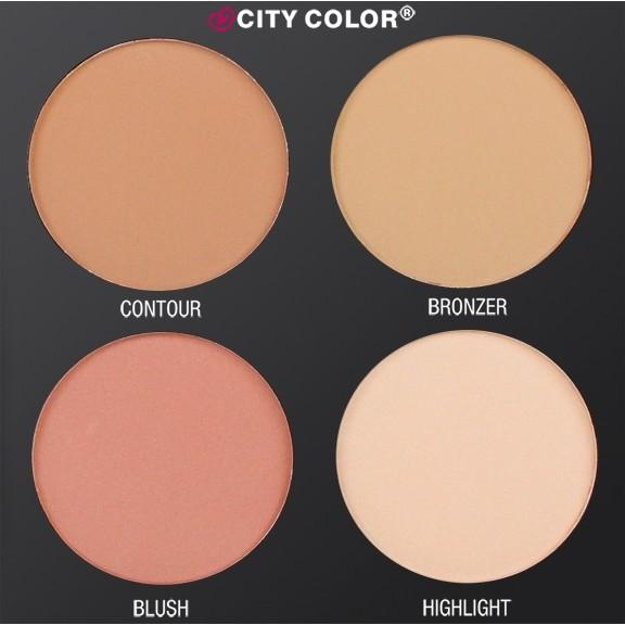 Bảng tạo khối City Color Contour & Define Palette
