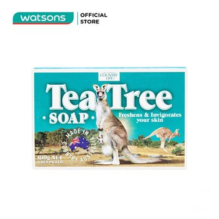Xà Bông Country Life Tea Tree 100g