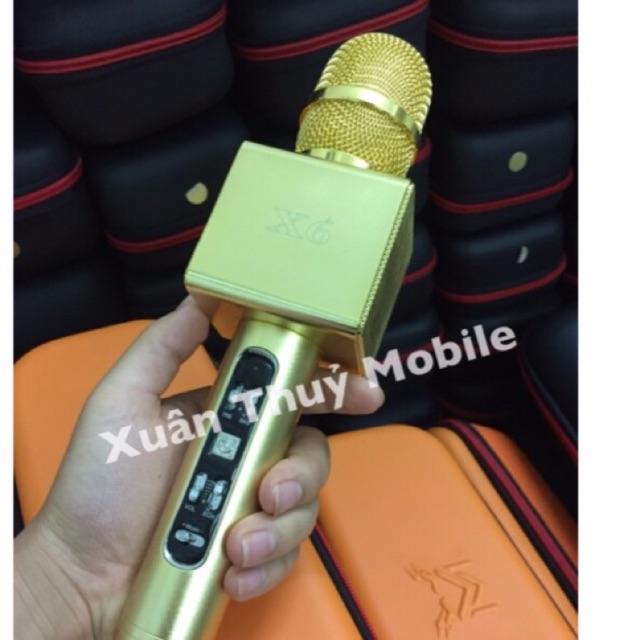Micro Karaoke X6 xịn loại 1