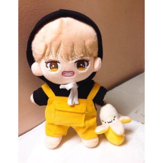 [outfit for doll kpo][Hoodie đen trơn