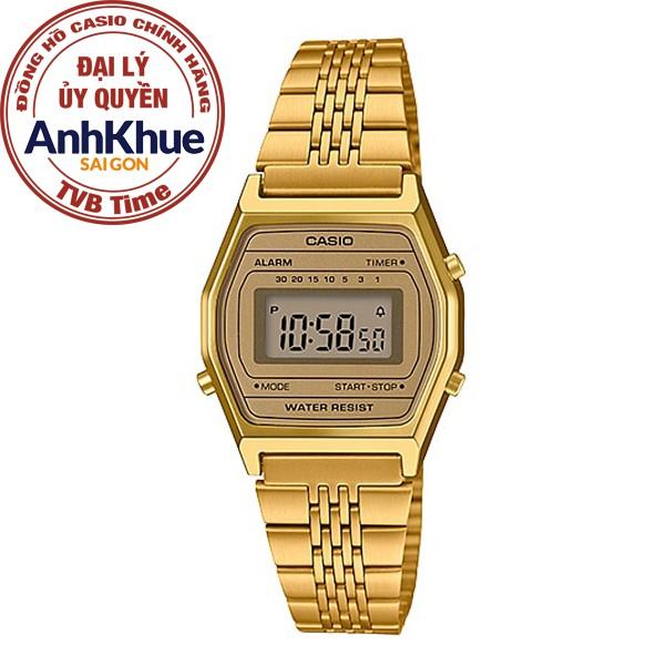 [Mã FARSBR243 giảm 15% đơn 249K] Đồng hồ nữ Casio Standard chính hãng Anh Khuê LA690WGA-9DF