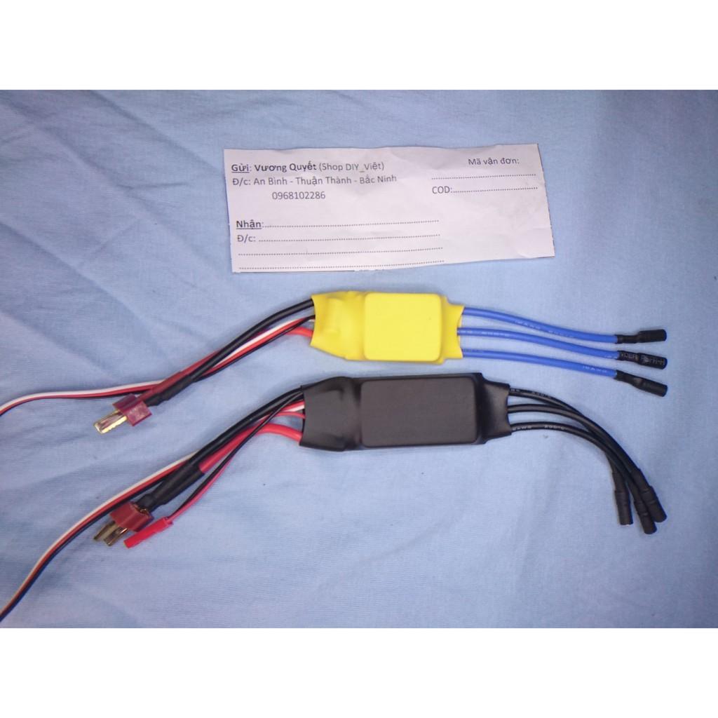 Bộ ESC HW30A, 40A và Test Servo - 9999893 , 459946213 , 322_459946213 , 40000 , Bo-ESC-HW30A-40A-va-Test-Servo-322_459946213 , shopee.vn , Bộ ESC HW30A, 40A và Test Servo