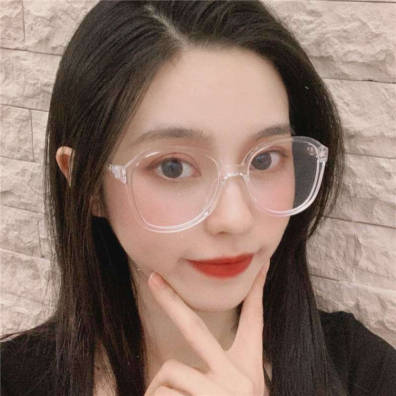 Mắt Kính Trong Suốt Phong Cách Hàn Quốc Thời Trang Cho Nữ