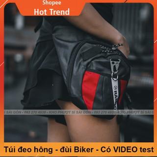 Giá buôn HCM - Túi đeo đùi phiên bản mới RAMBO như Dainese cao cấp - Túi đeo chéo hông tiện dụng thumbnail