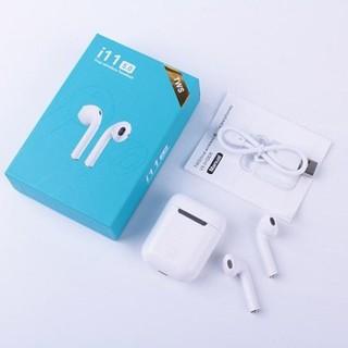 [Mã ELFLASH5 giảm 20K đơn 50K] Tai Nghe Airpods i11S Thế Hệ Mới - Hỗ Trợ Cảm Ứng Full Box - Full Phụ Kiện