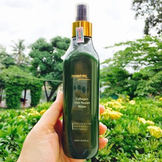 [G03] 🌾Best Seller🎋Xịt dưỡng phục hồi tóc Collagen Hair Repair Water Sophia 250ml S001