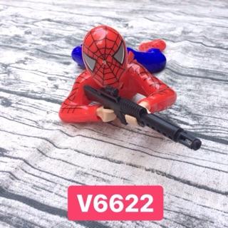 Người nhện bò bắn súng