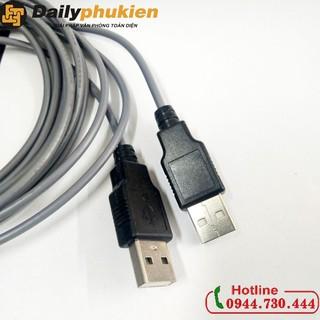 [Mã ELFLASH5 giảm 20K đơn 50K] Cáp nối dài USB 2 đầu đực 5m dailyphukien