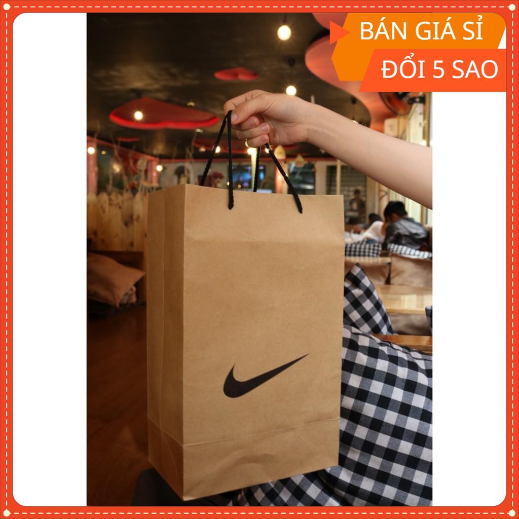 Túi đựng hộp giày Nike, túi xách giày Nike siêu chất, giấy đẹp size 36x22x13