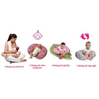 Gối đa năng size đại chữ C cho mẹ và bé.
