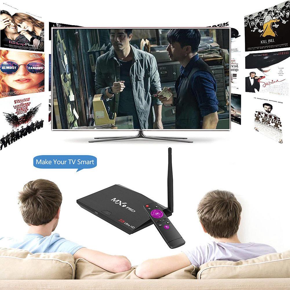 MX9 Pro 4GB RAM 32GB ROM Android 7 1 TV Box RK3328 2 4G/5G