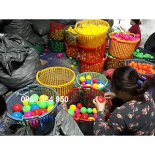 Combo 30 quả bóng nhựa phi 7