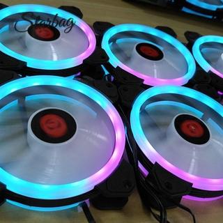 [star]Practical 12cm Desktop Computer Cooling Fan Silent Fan RGB Chassis Fan