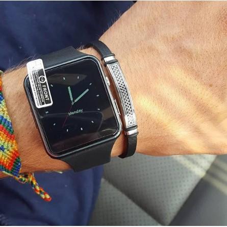Đồng Hồ Thông Minh Màn Hình Cong Smartwatch X6 Hỗ Trợ Sim Và Thẻ Nhớ