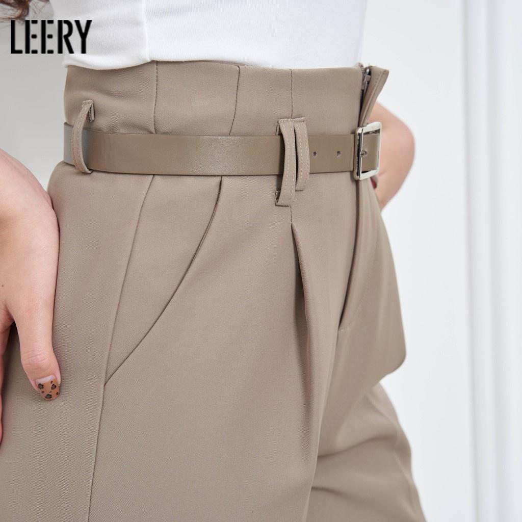 Mặc gì đẹp: Đẹp với Quần suông lưng cao công sở nữ, thiết kế chất vải đẹp loại QS-02 - LEERY
