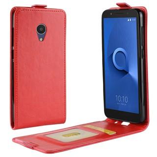 Bao da điện thoại họa tiết da PU dùng cho Alcatel 1X 5059D 5059