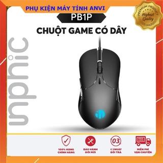 Chuột máy tính văn phòng, chơi Game inphic PB1P Có Dây 6 Nút 4000 DPI tùy chỉnh – Chính Hãng