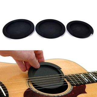 {shopping} Silicone Guitar Feedback Buster Soundhole Cover Sound Buffer Hole Protector{JUST}
