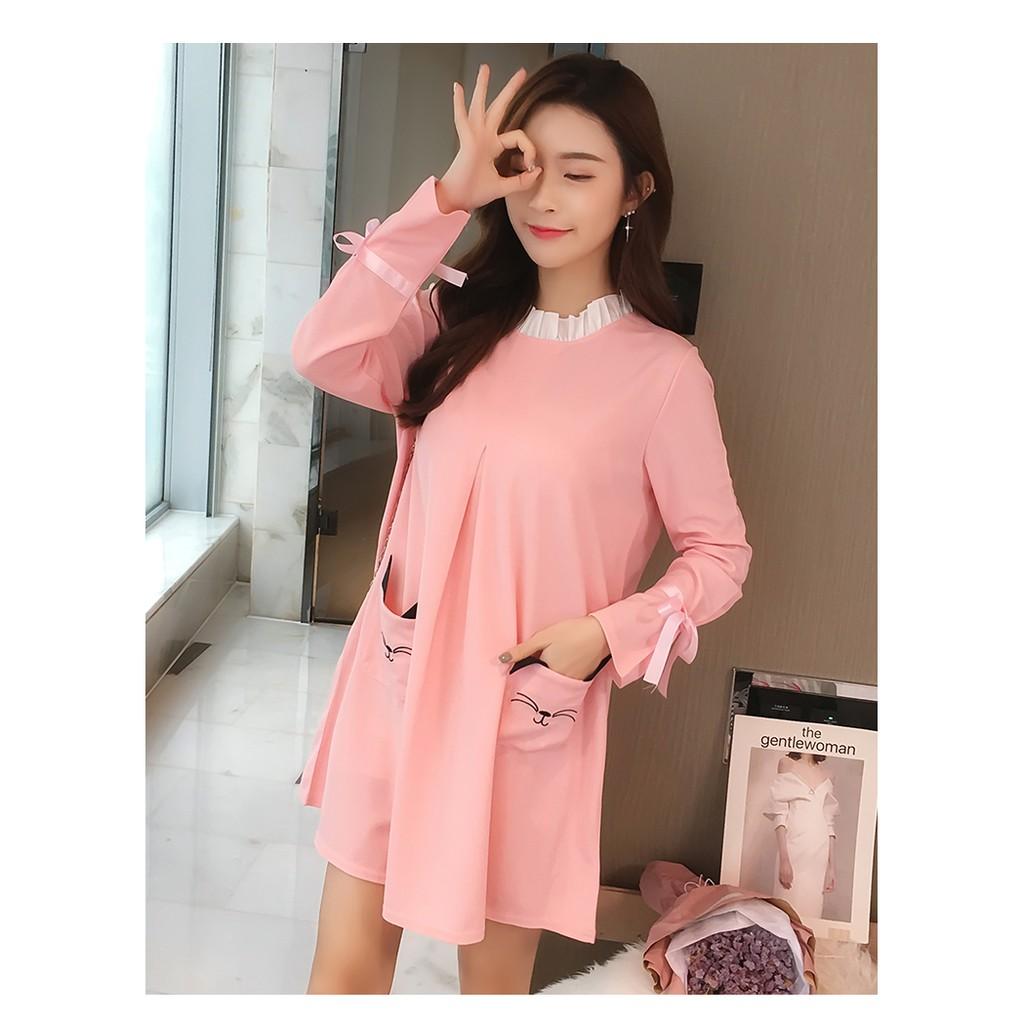 Đầm bầu , váy bầu ngắn tay dài có túi dễ thương hiện đại - 3125129 , 1347227682 , 322_1347227682 , 250000 , Dam-bau-vay-bau-ngan-tay-dai-co-tui-de-thuong-hien-dai-322_1347227682 , shopee.vn , Đầm bầu , váy bầu ngắn tay dài có túi dễ thương hiện đại