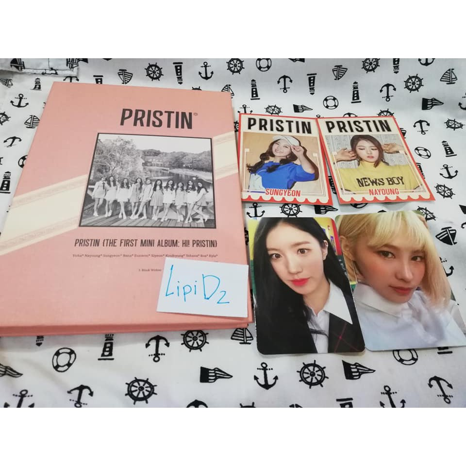 [พร้อมส่ง] PISTIN : 1st Mini Album Ver.B + การ์ด + โปสเตอร์