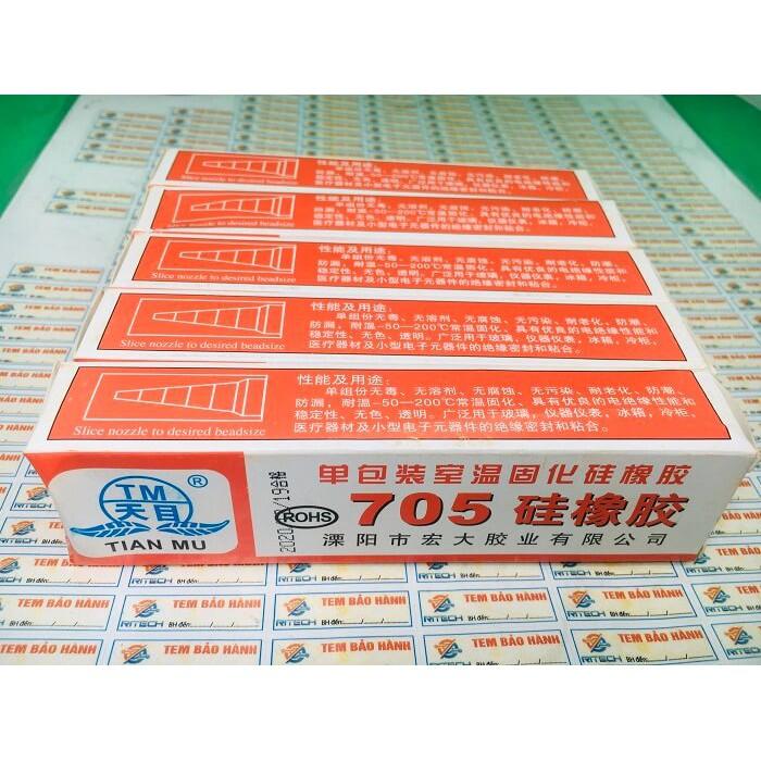 [Combo 3 hộp] Keo 705, Keo máy giặt, Keo phủ mạch, Keo chống ẩm mạch trong suốt