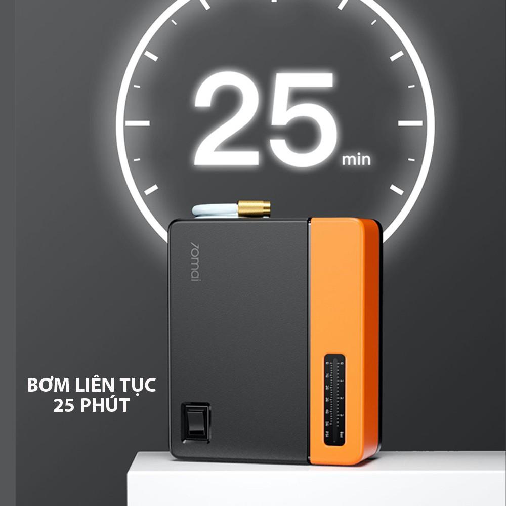 [2021] Bơm lốp ô tô mini Xiaomi. Máy bơm hơi 70 Mai phiên bản tiêu chuẩn