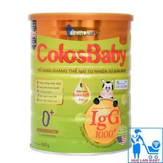 [CHÍNH HÃNG] Sữa Bột VitaDairy ColosBaby Gold 0 Hộp 800g (Bổ sung kháng thể IgG 1000 tự nhiên từ sữa non)