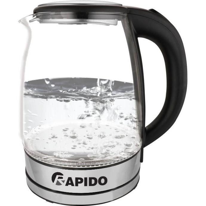 Máy đun nước nóng siêu tốc, Bình đun siêu tốc Rapido RK1818, 1800 W, 1,8 lit