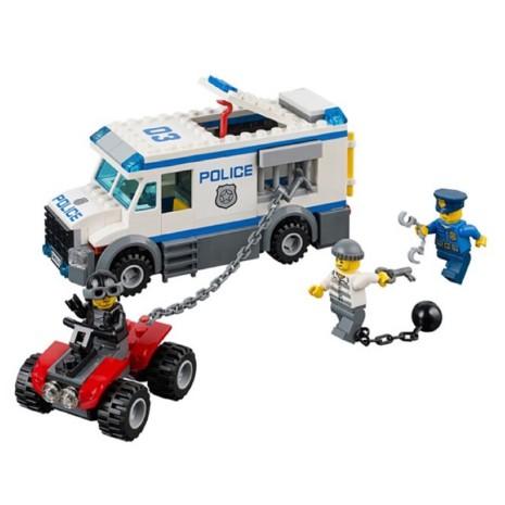 Lego Xếp Hình Cảnh Sát Truy Bắt Tội Phạm. Lego City Urban 10418 Đồ chơi Xếp hình cho bé