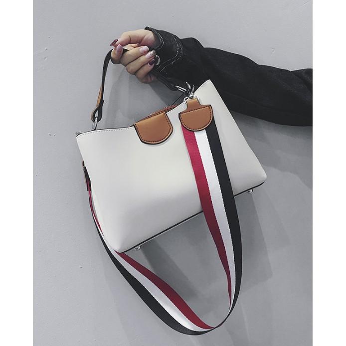 Túi đeo chéo nữ phong cách hàn quốc dây đeo bản to chắc chắn