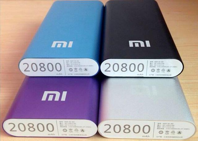 Pin sạc dự phòng xiaomi đa năng 20800Mah chính hãng bảo hành 1 tháng 1 đổi 1