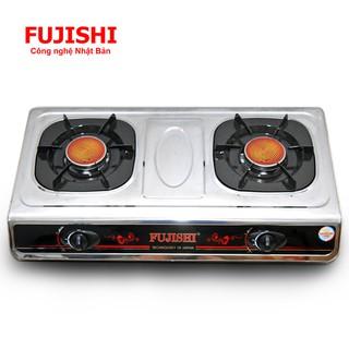 Bếp gas hồng ngoại khung inox Fujishi FJ-220-iHN, đánh lửa Magneto